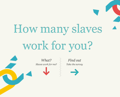 slavery footprint how many slaves work for you