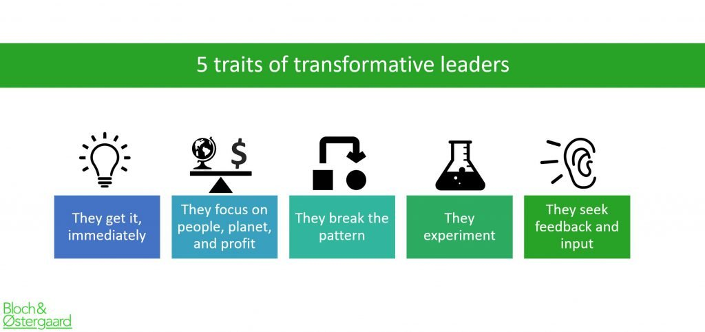 Five-traits of a transformative leader